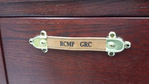 RCMP Trunk - Mahogany - Branded Leather Handle