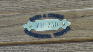 RCMP Trunk - Oak - Branded Serial Number