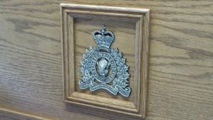 RCMP Trunk - Oak - Brass